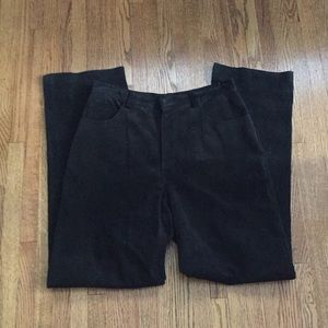 Sexy suede pants